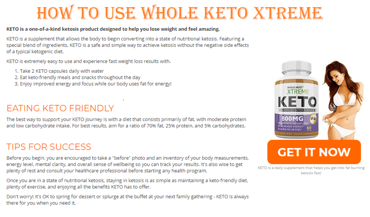 Whole Keto Xtreme Australia pills